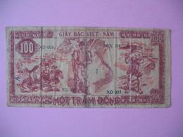 1948   Billet   Viêt-Nam     Giay Bac  De 100 Dong  N° BX 191 - Vietnam