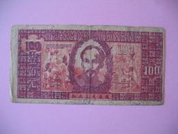 1948   Billet   Viêt-Nam     Giay Bac  De 100 Dong  N° CG 104 - Vietnam