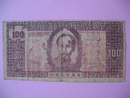 1948   Billet   Viêt-Nam     Giay Bac  De 100 Dong  N° GD 002 - Vietnam
