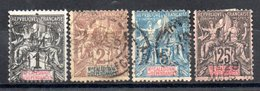 Nouvelle Calédonie  Neukaledonien Y&T 41°, 42°, 46°, 48° - Used Stamps