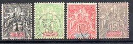 Nouvelle Calédonie  Neukaledonien Y&T  41°, 59°, 60°, 61° - Used Stamps