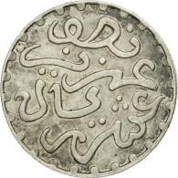 Monnaie, Maroc, 'Abd Al-Aziz, 1/20 Rial, 1/2 Dirham, 1320, Londres, SUP, Argent - Maroc