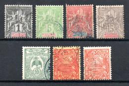 Nouvelle Calédonie  Neukaledonien Y&T  41°, 59°, 60°, 61°, 115°, 117°, 119° - Used Stamps