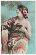 Pretty Sexy Woman, Erotiq , Art Deco, Old Postcard - Femmes