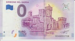 Billet Touristique 0 Euro Souvenir Italie - Sirmione Del Garda 2018-1 N°SEAG002708 - Private Proofs / Unofficial