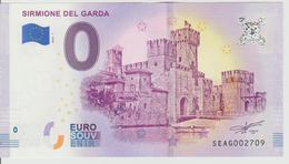 Billet Touristique 0 Euro Souvenir Italie - Sirmione Del Garda 2018-1 N°SEAG002709 - Private Proofs / Unofficial