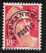 N° 100  FRANCE - PREOBLITERES - NEUF  - MARIANNE DE GANDON  - - 1893-1947