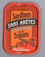 Puxisardinophilie - Boite à Sardines (vide) Sans Arêtes à L'huile D'olive Vierge Et à La Tomate - La Belle-iloise - Autres Collections