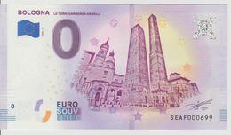 Billet Touristique 0 Euro Souvenir Italie - Bologna 2018-1 N°SEAF000699 - Private Proofs / Unofficial