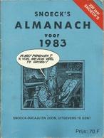 SNOECKS ALMANACH VOOR 1983 - Livres, BD, Revues