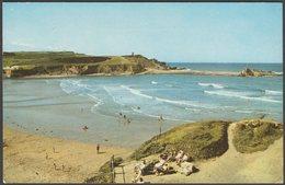 Compass Point And Summerleaze Beach, Bude, Cornwall, 1969 - Jarrold Postcard - England