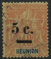 Reunion (1900) N 52 (o) - Réunion (1852-1975)