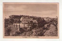 "Cartolina Collegio ""PP. Francescani"" Soliera Apuana (Massa Carrara). Corso Preparatorio Scuola Media, Ginnasio. 1952 - Carrara"