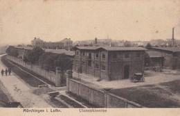 MÖRCHINGEN - MORHANGE - MOSELLE   (57)  -  PEU COURANTE CPA 1918. - Morhange