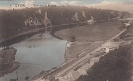 YVOIR / VUE SUR LA MEUSE ET LE CHEMIN DE FER / GUERRE 1914-18 / FELDPOST - Yvoir