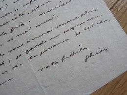 Henri GHEON (1875-1944) Ami ANDRE GIDE & écrivain CATHOLIQUE. Autographe - Autographs