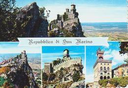 SAN MARIN        H10        ( 4 Vistas ) Republica Di San Marino - San Marino