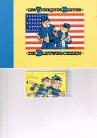 LES TUNIQUES BLEUES : Télecarte Belge Numérotée Dans Son Emballage D'origine. 1997 - Comics