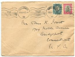 South Africa 1940 Cover Port Elizabeth To Bridgeport, Connecticut - South Africa (...-1961)