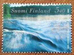 Finlande - YT N°1532 - L'eau, Richesse Naturelle / Europa - 2001 - Neuf - Finlande