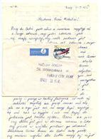 Poland 1982 Airmail Cover W/ Letter Brzeg To U.S. W/ Scott 2516 RWD-9 Airplane - 1944-.... Republic