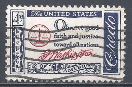 United States 1960. Scott #1139 (U) Quotation From Washington's Farewell Address, 1796 * - Etats-Unis