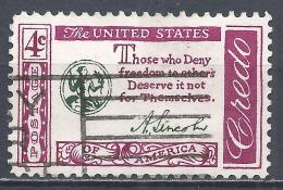 United States 1960. Scott #1143 (U) Abraham Lincoln Quotation  * - Etats-Unis