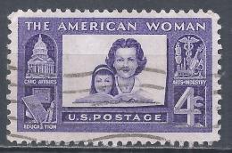 United States 1960. Scott #1152 (U) American Woman * - Etats-Unis