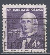 United States 1961. Scott #1177 (U) Horace  Greeley (1811-1872), Publisher And Editor * - Etats-Unis