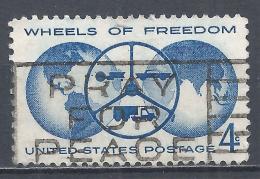 United States 1960. Scott #1162 (U) Wheels Of Freedom * - Etats-Unis