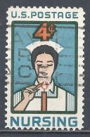 United States 1961. Scott #1190 (U) Nurse, Candle * - Etats-Unis