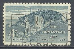 United States 1962. Scott #1198 (U) Homestead Act. Centenary * - Etats-Unis