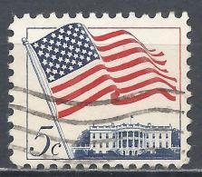 United States 1963. Scott #1208 (U) Flag Over White House * - Etats-Unis