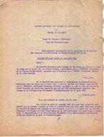 VP12.728 - PARIS - Acte De 1955 - Entre La S.N.C.F Ligne De VIERZON à MONTAUBAN X FORGES & La Sté Des Acièries - Chemin De Fer