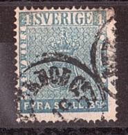 Suède - 1855 - N° 2 - Cote 100 - Suède