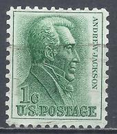 United States 1963. Scott #1209 (U) Andrew Jackson * - Etats-Unis