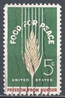 United States 1963. Scott #1231 (U) Wheat * - Etats-Unis