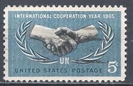 United States 1965. Scott #1266 (U) ICY Emblem * - Etats-Unis