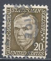 United States 1965. Scott #1289 (U) George Catlet Marshall * - Etats-Unis