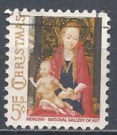 United States 1966. Scott #1321 (U) Christmas, Madonna And Child * - Etats-Unis