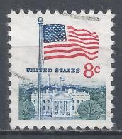 United States 1971. Scott #1338F (U) Flag And White House * - Etats-Unis