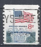 United States 1971. Scott #1338G (U) Flag And White House * - Etats-Unis