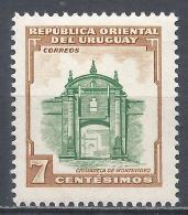 Uruguay 1954. Scott #610 (M) Montevideo Fortress * - Uruguay