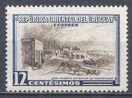 Uruguay 1954. Scott #613 (M) Outer Gate Montevideo * - Uruguay