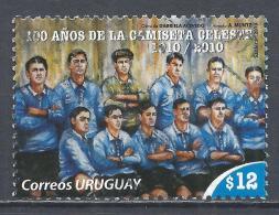 Uruguay 2010. Scott #2310a (U) Blue Uniform Of Yruguay Soccer Team * - Uruguay