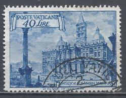 Vatican City 1949. Scott #130a (U) Basilica St. Mary Major * - Vatican