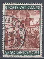 Vatican City 1949. Scott #136 (U) Jesus Giving St. Peter The Keys Of Heaven * - Vatican