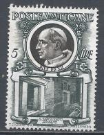 Vatican City 1953. Scott #159 (M) Pius XII And Roman Sepulcher * - Vatican
