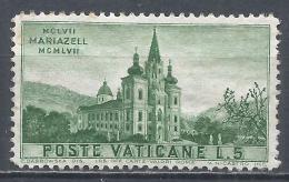 Vatican City 1957. Scott #229 (M) Mariazell * - Vatican