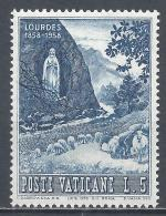 Vatican City 1958. Scott #233 (M) Apparition Of The Virgin Mary * - Vatican